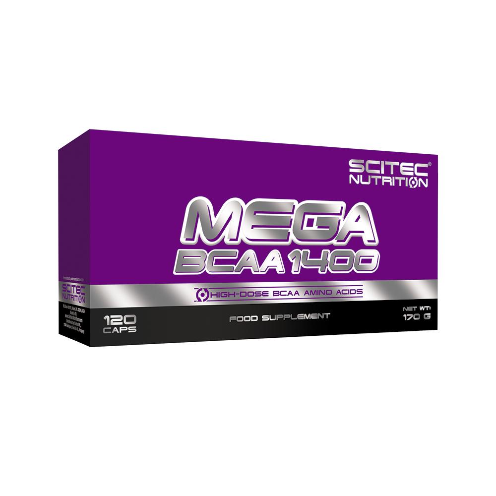 Scitec Nutrition Mega BCAA 1400 120 caps
