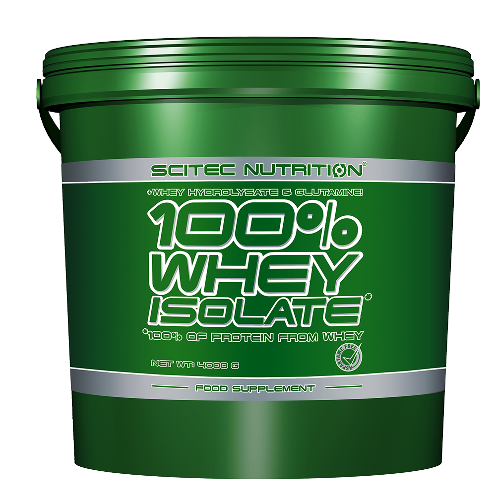 Scitec Nutrition 100% Whey Isolate 4 kg